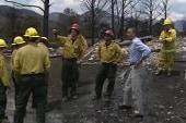 Obama visits Colorado to assess wildfire...