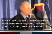Rep. Mikloski defends Joe 'You lie' Wilson