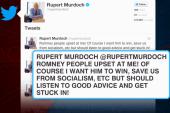 Murdoch: 'Romney people upset at me!'