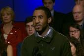 Students ask Chris Matthews questions