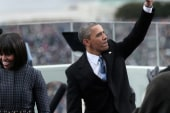 Celebrating Obama's inauguration on MLK Day