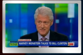 Bill Clinton goes off message, praises...
