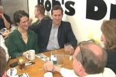 Santorum, Romney work to change public...