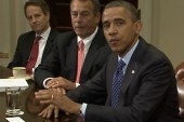 Will re-election momentum help Obama in...