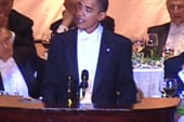 Obama, Romney to trade laughs at Alfred E....