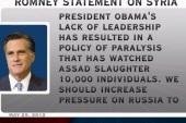 Romney condemns Obama's response to Syria