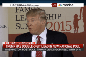 Trump has double-digit lead in new poll