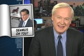 Santorum points finger at Romney and Seamus