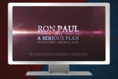Ron Paul turns Etch-A-Sketch attacks around