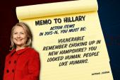 Advice for Hillary Clinton