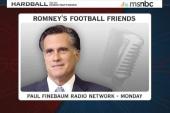 Romney's football friends