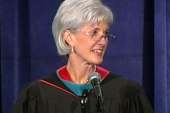 HHS Sec. Sebelius heckled by anti-abortion...