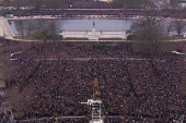 Over one million attend Obama's second...