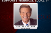 Democratic senator reverses opposition to...