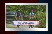 Letterman commemorates Obama's vacation