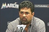 Marlins manager suspended for...