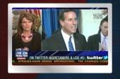 Palin commends Santorum for cursing at NYT...