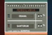 Pa. poll: Santorum catches up to Obama