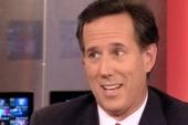 Rick Santorum plays Hardball