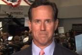 Santorum on being 'established' and ...