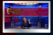 No one honors Reagan like Colbert