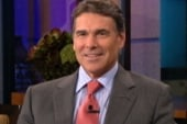 Perry makes fun of his own gaffe