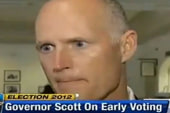 Sideshow: Fla. Gov. Rick Scott pretends to...