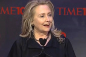 Sideshow: Hillary Clinton's lighter moments