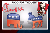 Sideshow: The politics of food