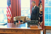 Sideshow: 'Kid President' makes it to the...