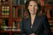 Sideshow: Bachmann's really, really early...