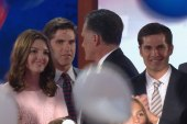 Sideshow: Romney's family didn't want him...