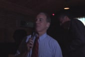 Howard Dean brings back the famous scream,...
