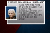Sandra Day O'Connor laments 'ignorance' of...
