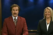 Ron Burgundy hosts local news show