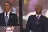 Fake interpreter talks of schizophrenic...