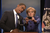 SNL parodies Obama 'selfie'