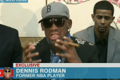 Rodman in hot war over North Korea visit