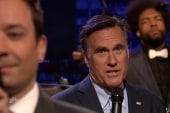Romney 'slow jams' the news