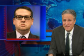 Daily Show mocks Christie's high school drama