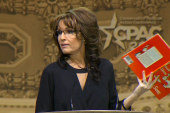 Palin reads Seuss at CPAC