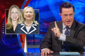 Colbert takes on 'Hillary birthers'
