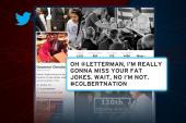 Christie takes swipe at Letterman