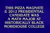 Jeopardy contestants forget Herman Cain