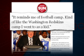 Rob Ford compares rehab to football camp