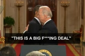 Biden: 'About the BFD stuff…'