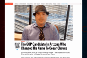 Former GOPer changes name to 'Cesar Chavez'