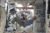 Soccer fever hits outer space