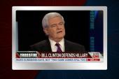 Gingrich compares Clintons, Kardashians