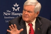 Gingrich rises to power, falls and rises...